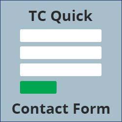 quick contact form icon