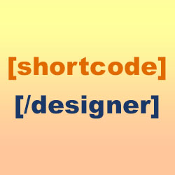shortcode designer icon