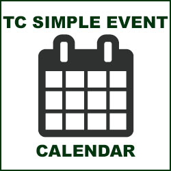 tc simple event calendar icon