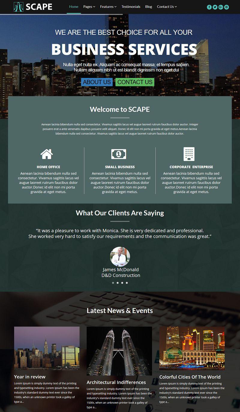 Scape Homepage Screenshotc8095b7ac8130e880aec240e5903e231